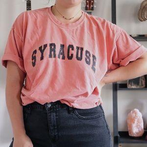 Vintage Oversized Syracuse Tee